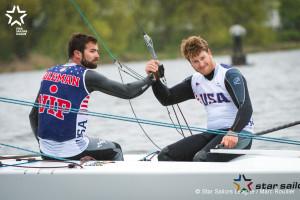 Bow no: 070 // Sail: USA 0002 // Skipper: Luke LAWRENCE // Crew: Ian COLEMAN