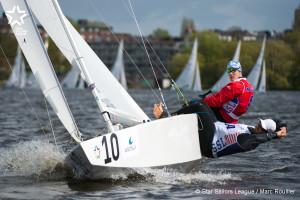 Bow no: 010 // Sail: NOR 8317 // Skipper: Eivind MELLEBY // Crew: Joshua REVKIN