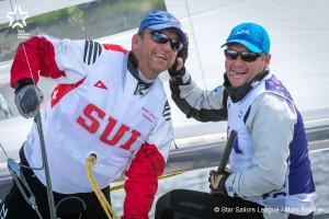 Bow no: 001 // Sail: USA 8320 // Skipper: George SZABO // Crew: Patrick DUCOMMUN