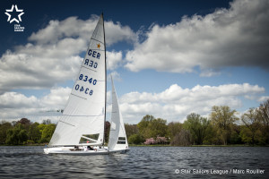 Bow no: 005 // Sail: GER 8340 // Skipper: Robert STANJEK // Crew: Frithjof KLEEN