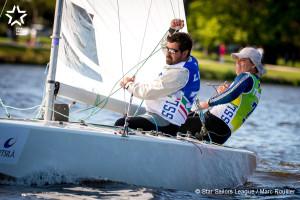 Bow no: 008 // Sail: BRA 8510 // Skipper: Torben GRAEL // Crew: Stefano LILLIA